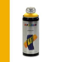 Dupli-Color platinum zijdemat lak RAL 1023 verkeersgeel - 400 ml.