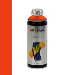 Dupli-Color platinum hoogglans lak RAL 2009 verkeersoranje - 400 ml.
