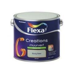 Flexa creations muurverf extra mat early dew - 2,5 liter