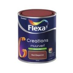 Flexa creations muurverf extra mat red elegance - 1 liter