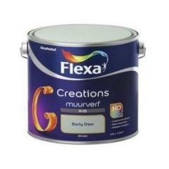 Flexa creations muurverf krijt early dew - 2,5 liter