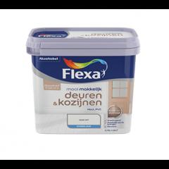Flexa mooi makkelijk deuren & kozijnen lak wit - 750 ml.