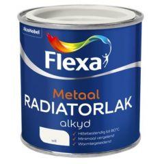 Flexa radiatorlak alkyd wit - 250 ml.