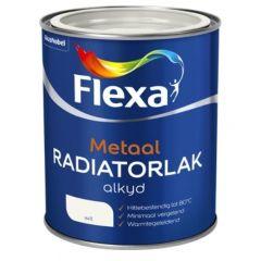 Flexa radiatorlak alkyd wit - 750 ml.