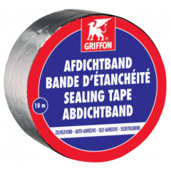 Griffon afdichtband aluminium - 10m x 20cm