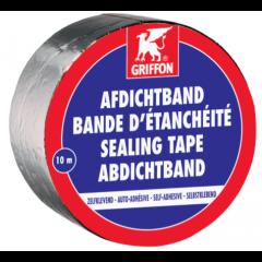 Griffon afdichtband aluminium - 10m x 7,5cm