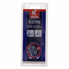 Griffon electro draadsoldeer tin/koper 99/1 harskern Ø 3 mm. - 100 gram