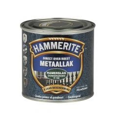 Hammerite direct over roest metaallak hamerslag donkergroen - 250 ml.