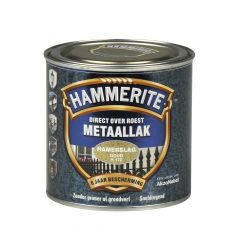 Hammerite direct over roest metaallak hamerslag goud - 250 ml.