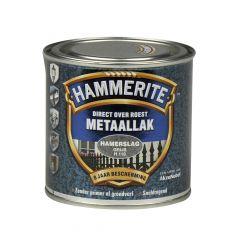Hammerite direct over roest metaallak hamerslag grijs - 250 ml.