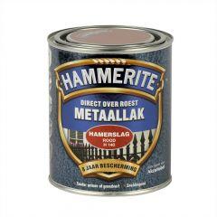 Hammerite direct over roest metaallak hamerslag rood - 250 ml.