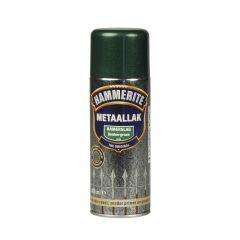 Hammerite direct over roest metaallak hamerslag verspuitbaar donkergroen - 400 ml.