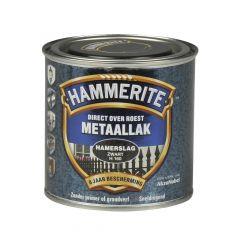 Hammerite direct over roest metaallak hamerslag zwart - 250 ml.