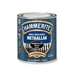 Hammerite direct over roest metaallak hamerslag zwart - 2,5 liter