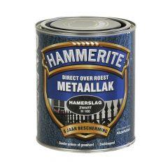 Hammerite direct over roest metaallak hamerslag zwart - 750 ml.