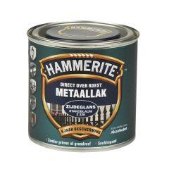 Hammerite direct over roest metaallak zijdeglans standblauw - 250 ml.