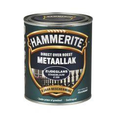 Hammerite direct over roest metaallak zijdeglans standblauw - 750 ml.