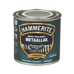 Hammerite direct over roest metaallak zijdeglans standgroen - 250 ml.