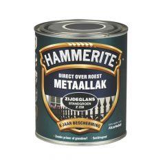 Hammerite direct over roest metaallak zijdeglans standgroen - 750 ml.