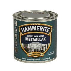 Hammerite direct over roest metaallak zijdeglans zilvergrijs - 250 ml.