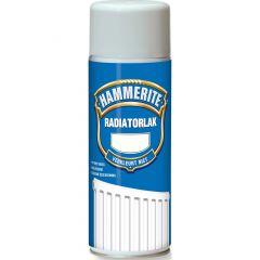 Hammerite radiatorlak hoogglans verspuitbaar wit - 400 ml.