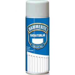 Hammerite radiatorlak hoogglans verspuitbaar gebroken wit - 400 ml.