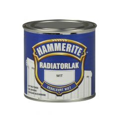 Hammerite radiatorlak hoogglans wit - 250 ml.