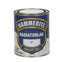 Hammerite radiatorlak hoogglans wit - 750 ml.