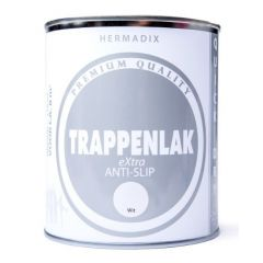 Hermadix trappenlak extra anti-slip wit - 750 ml.