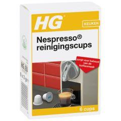 HG reinigingscups voor Nespresso® machines
