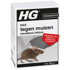 HGX tegen muizen navulbare lokbox