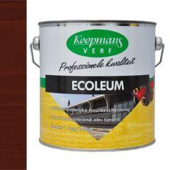 Koopmans ecoleum houtbescherming donkerbruin (210) - 2,5 liter