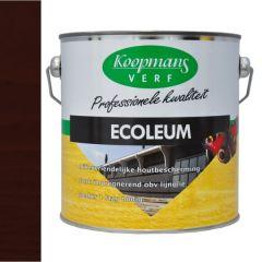 Koopmans ecoleum houtbescherming zwart/bruin (225) - 2,5 liter