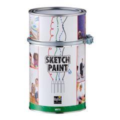Magpaint SketchPaint wit glans - 1 liter