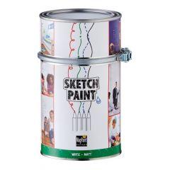 Magpaint SketchPaint wit mat - 1 liter