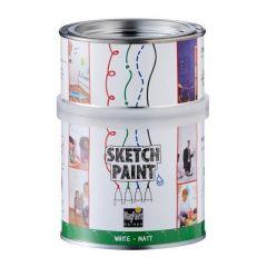 Magpaint SketchPaint wit mat - 500 ml.