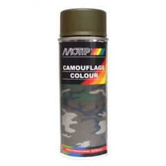 Motip camouflagelak mat RAL 6014 - 400 ml.