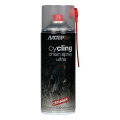 Motip cycling chain spray ultra smeermiddel - 400 ml.
