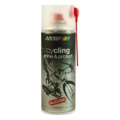 Motip cycling shine & protect reiniger / beschermer - 400 ml.