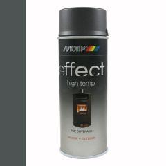 Motip/Dupli-Color effect hittebestendige lak antraciet (302403) - 400 ml.