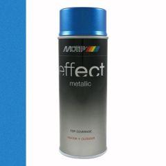 Motip/Dupli-Color deco effect metallic lak blauw - 400 ml.