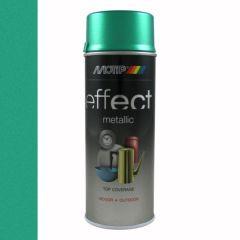 Motip/Dupli-Color effect metallic lak groen - 400 ml.