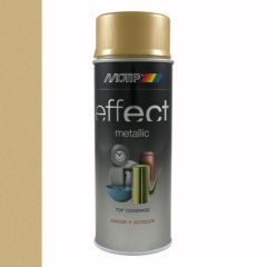 Motip/Dupli-Color effect metallic lak zuiver goud - 400 ml.