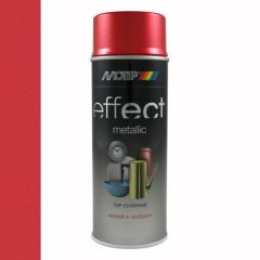 Motip/Dupli-Color deco effect metallic lak rood - 400 ml.