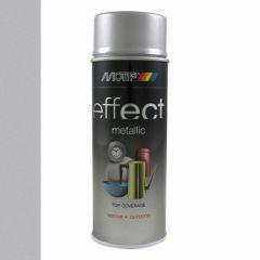 Motip/Dupli-Color deco effect metallic lak zilver aluminium - 400 ml.
