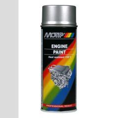 Motip engine paint / motorblokken lak aluminium (04093) - 400 ml.