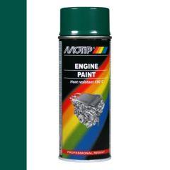 Motip engine paint / motorblokken lak groen (04095) - 400 ml.