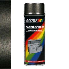 Motip hamerslag lak grijs - 400 ml.