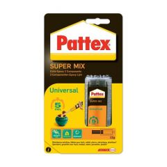 Pattex power epoxy super mix universal tweecomponentenlijm - 5 minuten