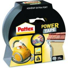Pattex power tape grijs - 25 meter